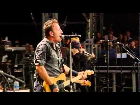 Bruce Springsteen and the E street band, live in Hyde Park, London 2009 (Part 2)