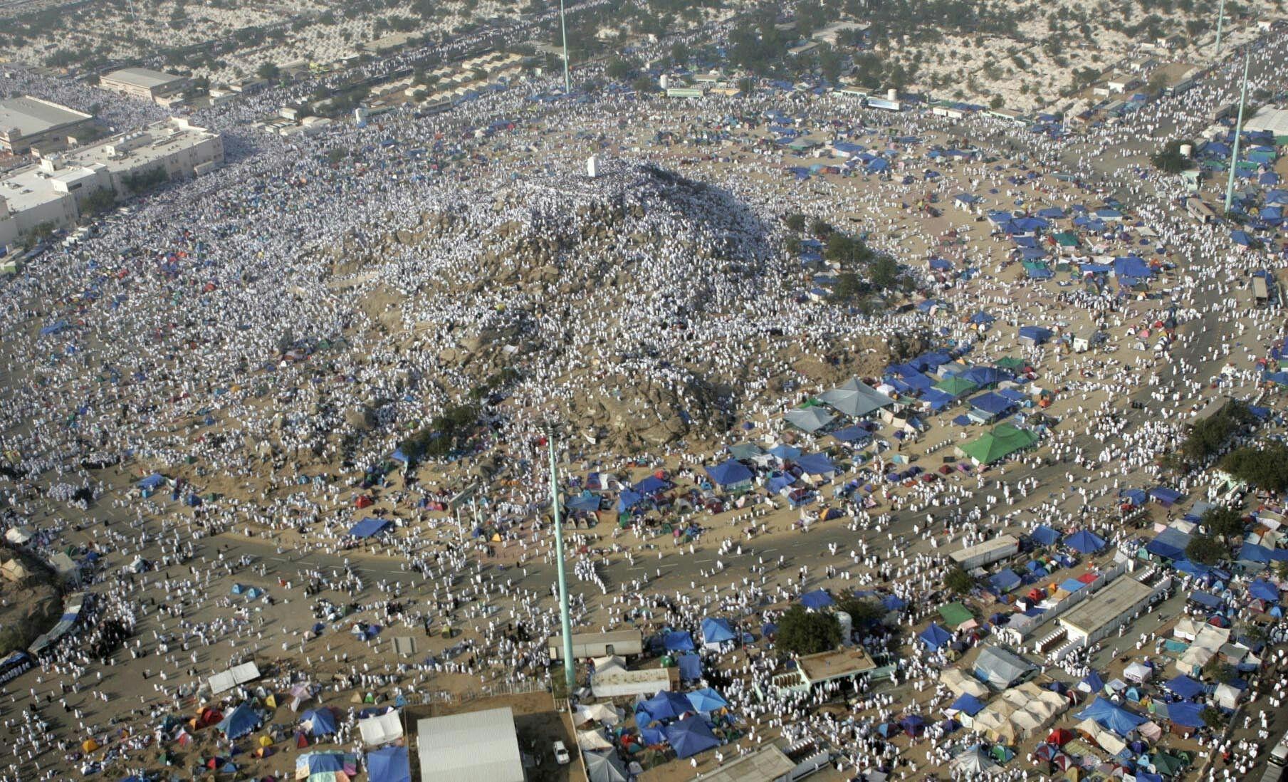 Image result for wukuf di arafah