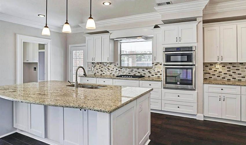 Kitchen Countertop Ideas With White Cabinets Kitchen Countertops