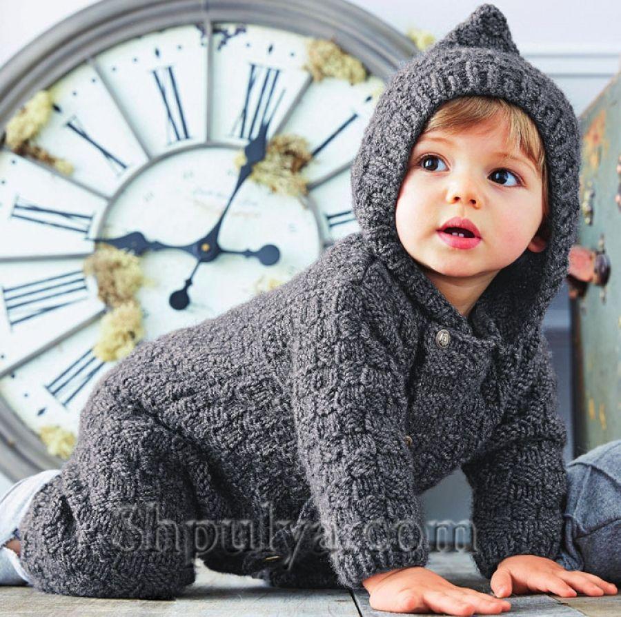 Вязание спицами. Детям от 0 до 3 лет. Модели