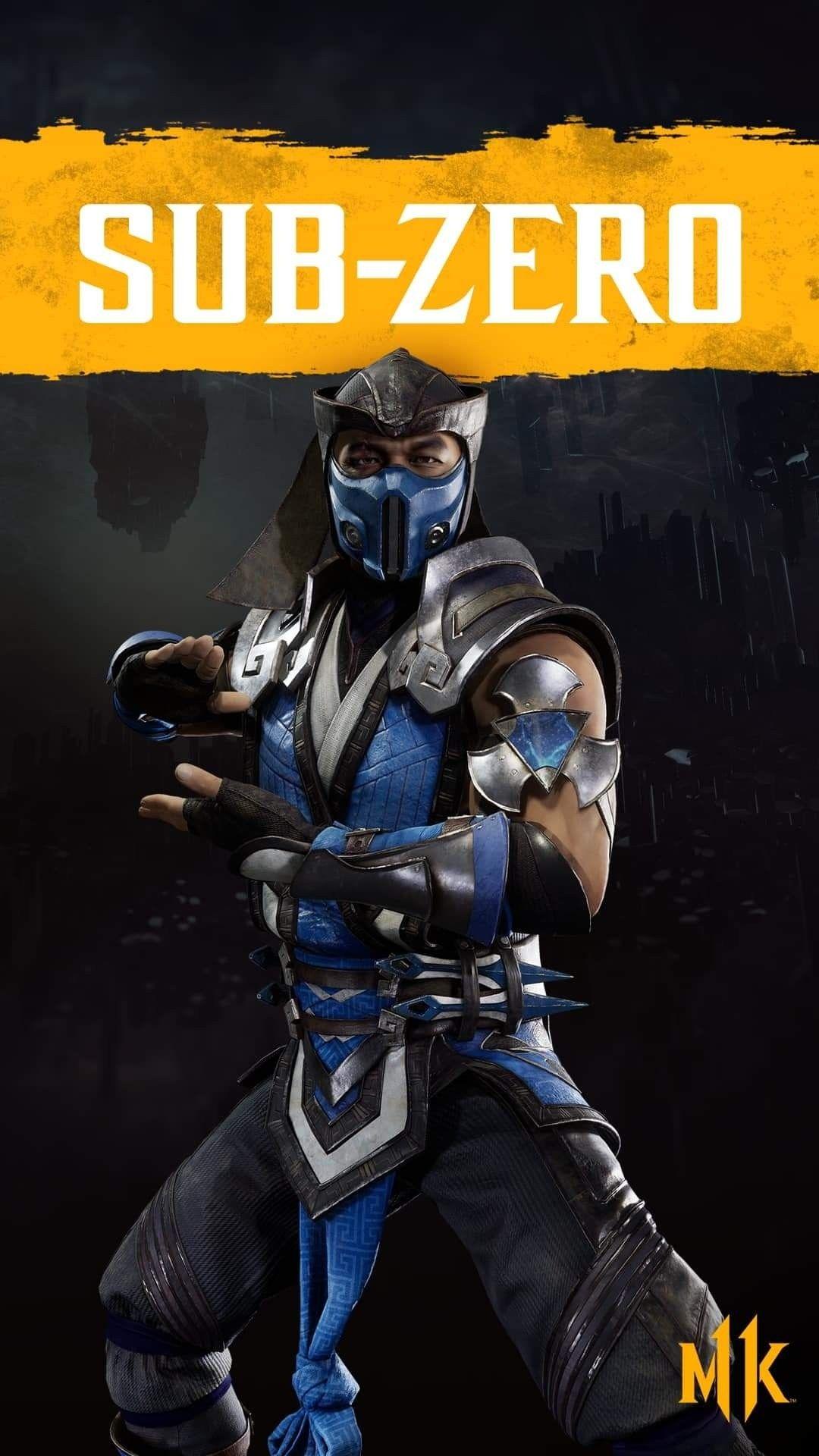 SubZero Mortal kombat characters, Sub zero mortal