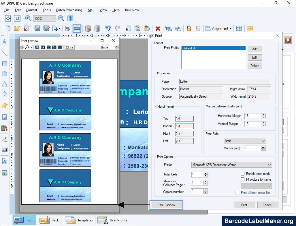 Photo Id Card Maker Free Software Demo Download Create Intended For Faculty Id Card Template Best Business Temp Id Card Template Card Maker Business Template