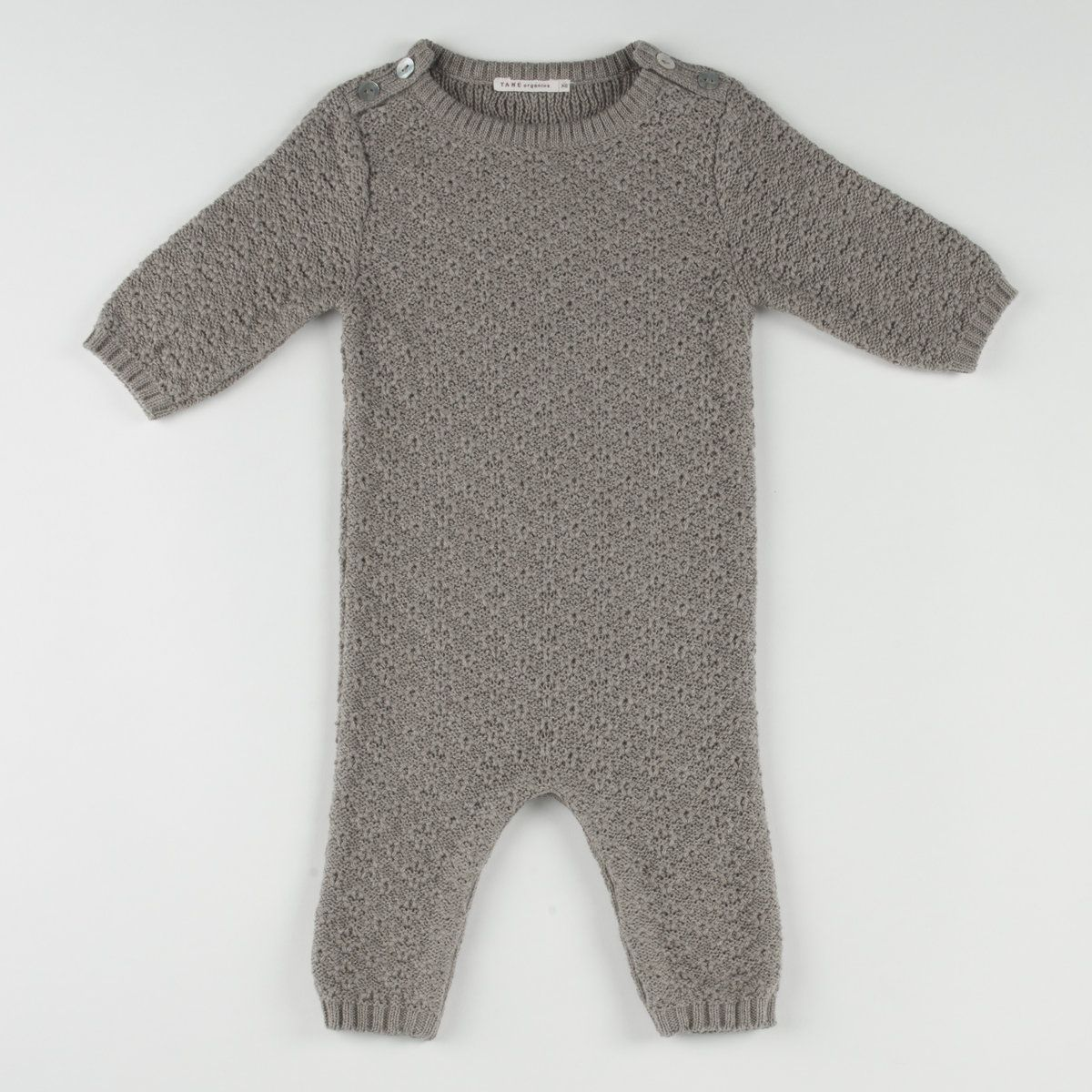 Luxurious Organic Infant and Baby Clothing: onesies : Crater Stitch Coverall