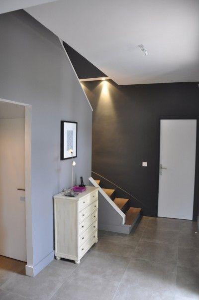 Entre Escalier Avec clairage  Ide Dco Pour Une Entre