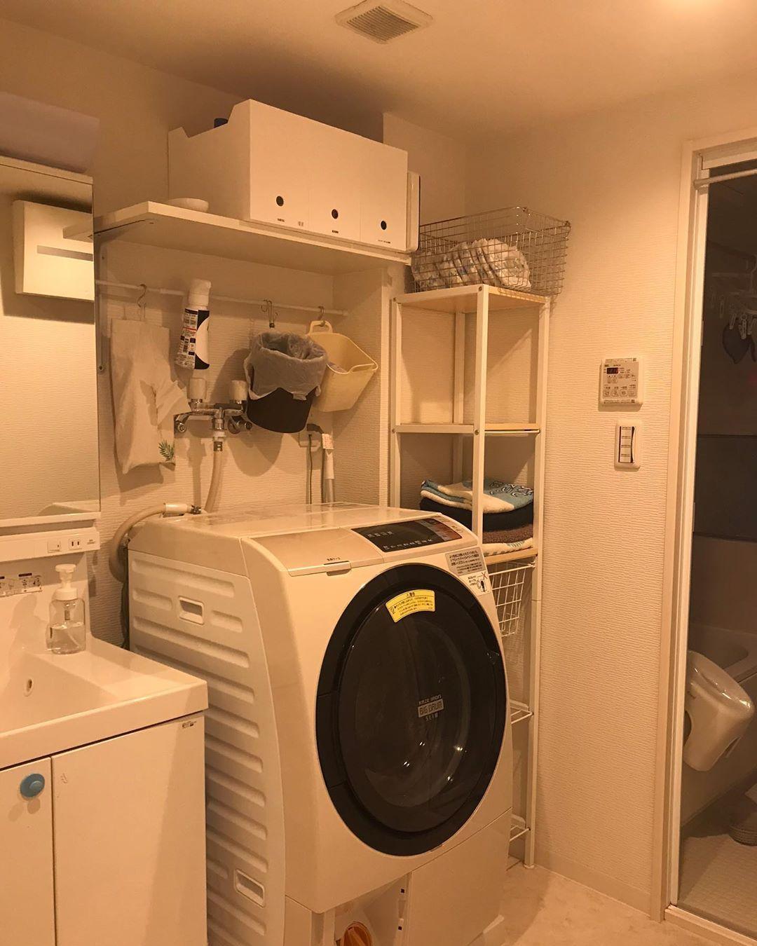 画像に含まれている可能性があるもの 室内 Home Appliances Washer And Dryer Washing Machine