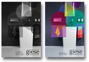 Grafik Design // Katalog // Andrea Zinecker // für giese MANUFAKTUR