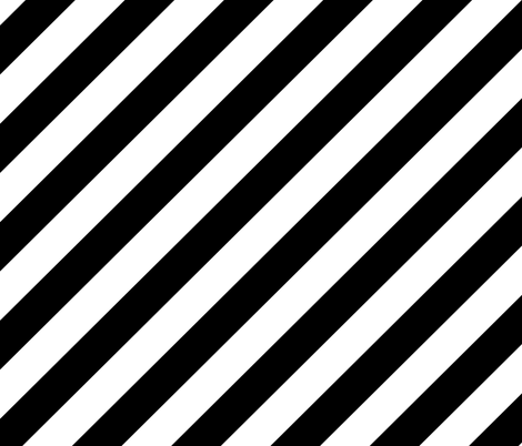 Colorful Fabrics Digitally Printed By Spoonflower Diagonal Stripes Black And White In 2020 Black And White Aesthetic Black And White Diagonal Stripes