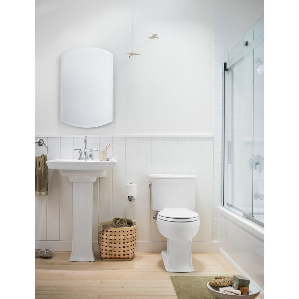 KOHLER Archer Comfort Height 2-piece 1.28 GPF Elongated Toilet ...
