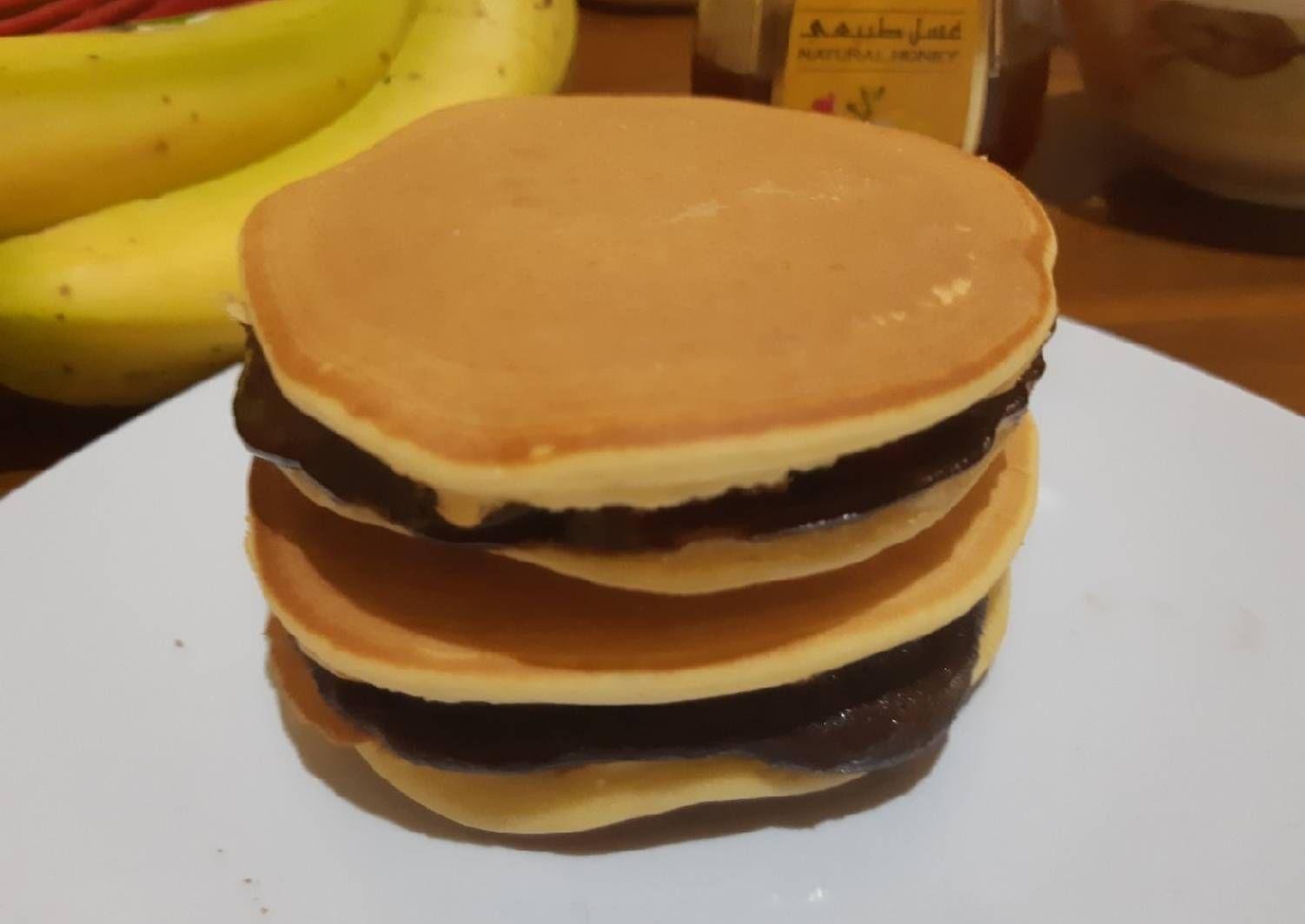 Resep Pancake Jepang Aka Dorayaki Tanpa Soda Kue Oleh Diana Pugas Resep Makanan Kue Dadar Resep