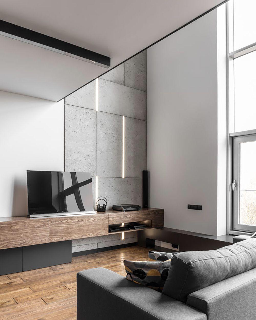 un loft mezzanine contemporain visite deco places pinterest et. Black Bedroom Furniture Sets. Home Design Ideas