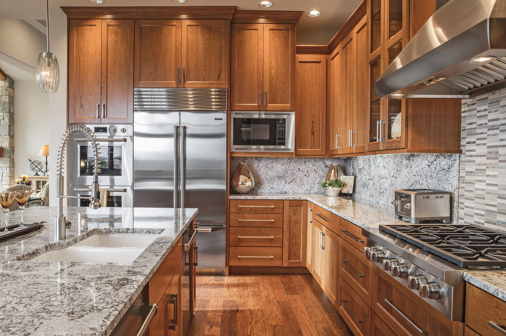 We Make Sure Our Kitchens Are Spacious While Maintaining A Modern Style With High End Hospital Interior Design Custom Kitchens Design Interior Design Kitchen