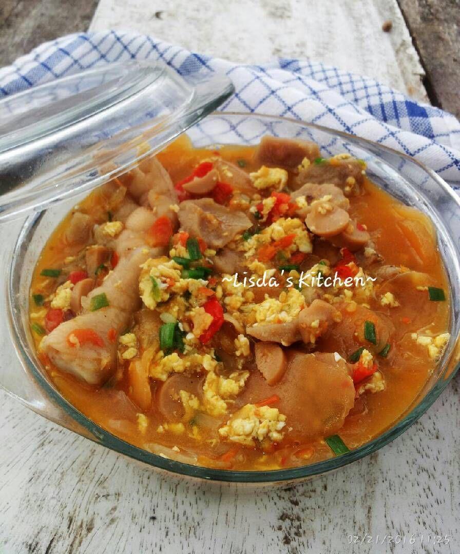 Resep Seblak Basah Khas Bandung Oleh Lisda Trijianto Resep Resep Resep Masakan Makanan Pedas