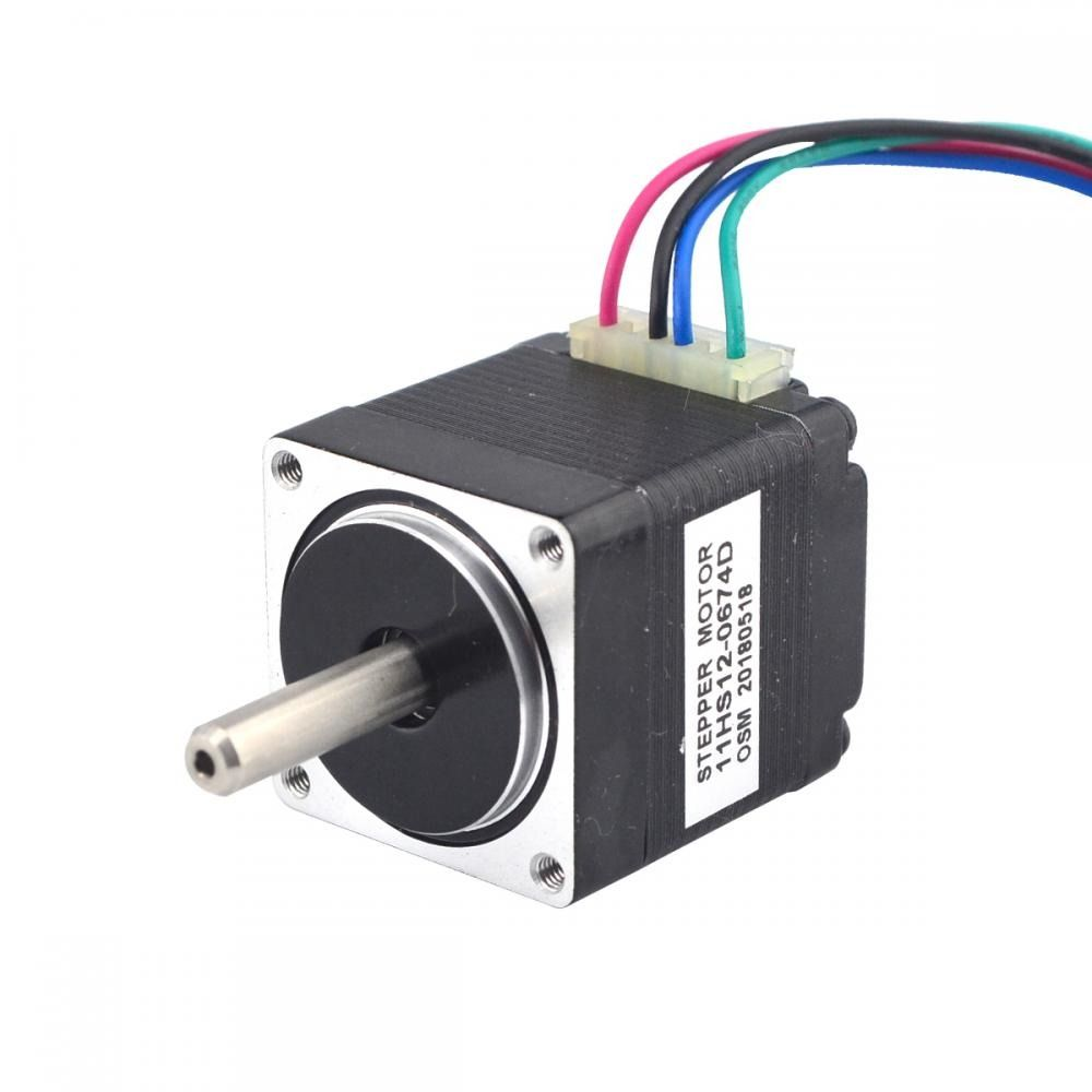 Pin On Dual Shaft Stepper Motor