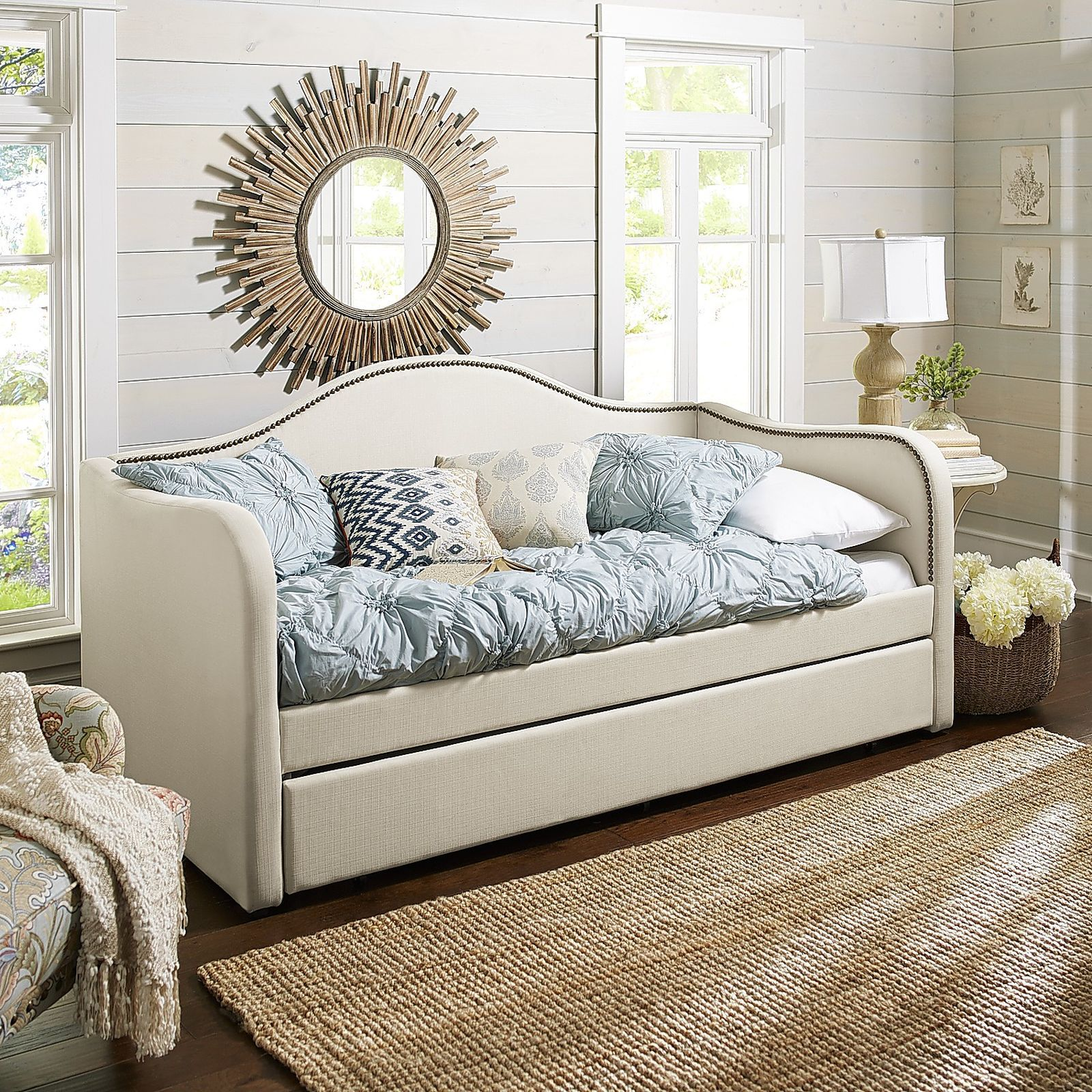 Michelle Taupe Trundle Daybed