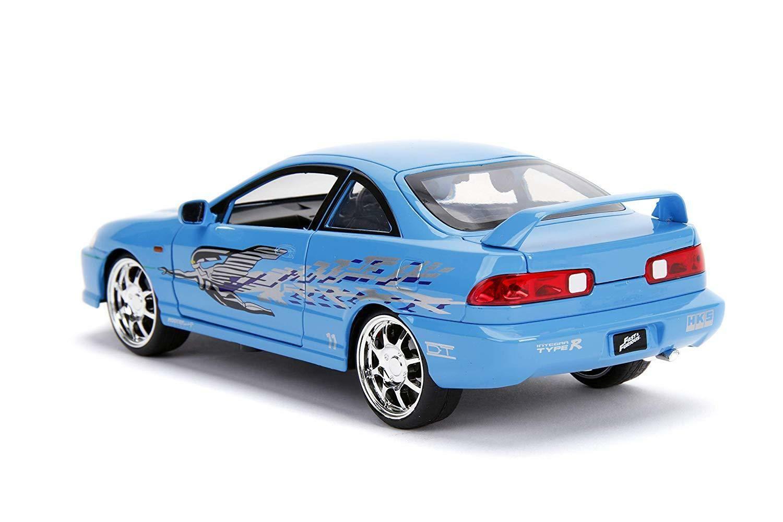 Mia S Acura Integra Rhd Right Hand Drive Blue The Fast And The Furious 1 24 Jada Ebay Diecast Model Cars Diecast Cars Acura Integra [ 1000 x 1500 Pixel ]