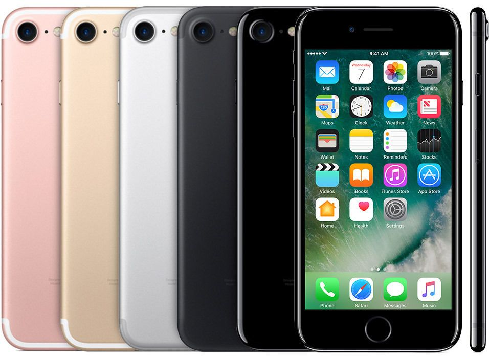 Apple Iphone 7 128gb Gsm Unlocked 4 7 12mp 3d Touch Ios Smartphone Iphone Hacks Iphone Iphone 7
