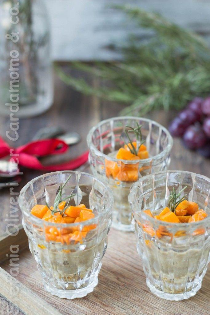 Cheesecake salato lenticchie e zucca   Cardamomo & Co.