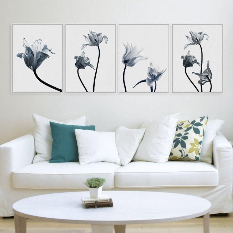 Cuadros minimalistas para decorar im genes pinterest - Cuadros para salones minimalistas ...