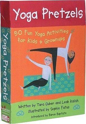 pdf download yoga pretzels 50 fun yoga activities for