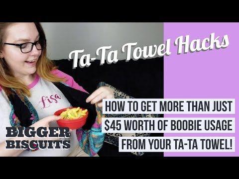 1e30d227bb Tata Towel - How to make a ta ta towel - DIY - YouTube