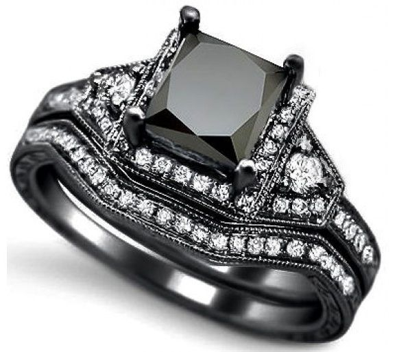ring black diamond engagement rings zales 34 - Wedding Rings At Zales
