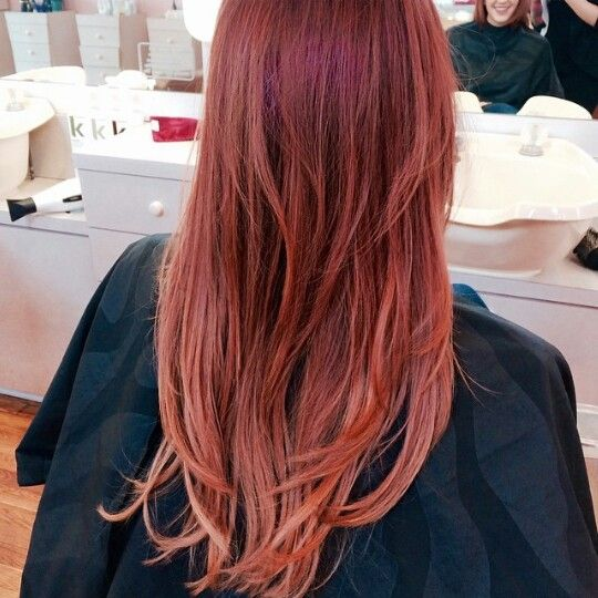 Beautiful melted red by Rylie C. ♡