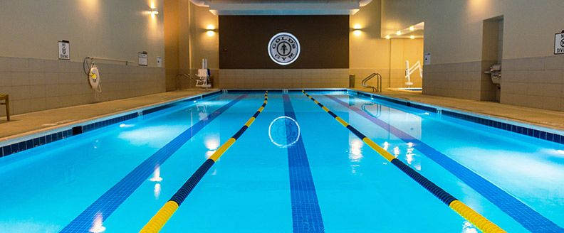 Colorado Springs Rustic Hills Golds Gym Pool Swimming Pools