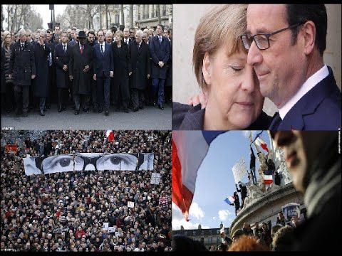 Charlie Hebdo - Paris March : World Leaders and One Million People Walked │FULL VIDEO (January 11 ,2015)
