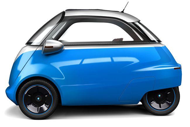 Microlino O Novo Isetta Bmw Isetta Coche Eléctrico Microcoche