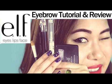 e.l.f. Eyebrow Kit Review & How I Fill In My Eyebrows Tutorial | DecorateYou