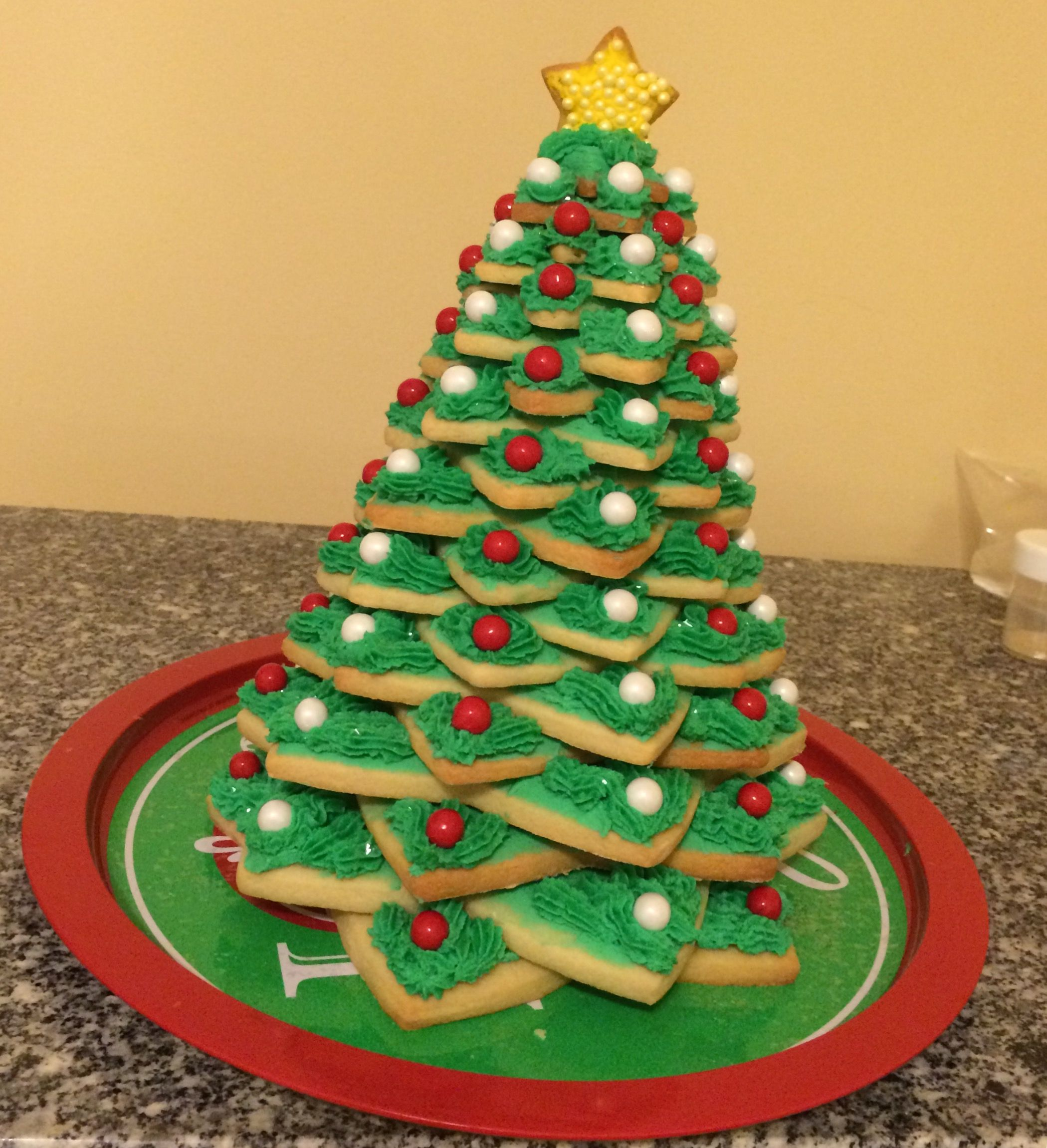 Christmas Sugar Cookie Tree Made By My Momma How Cool