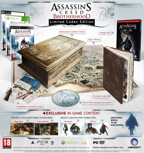 Renaissance Collector Chest Altair S Codex Strategy Map Of