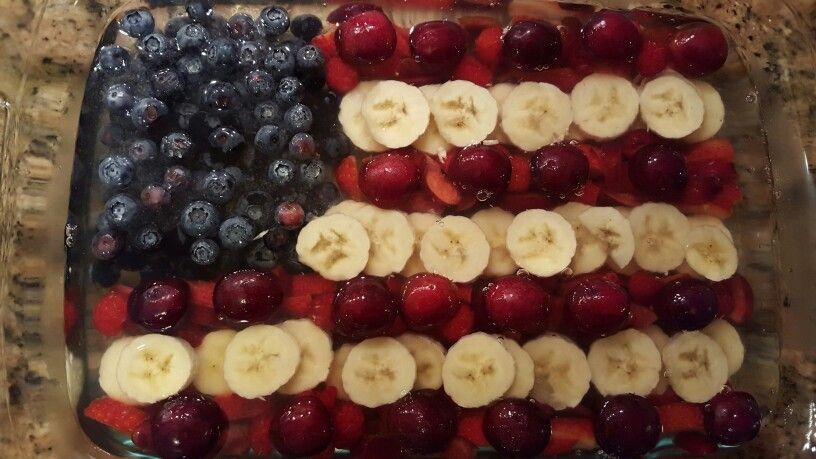 Vegan jel fruit flag!!!