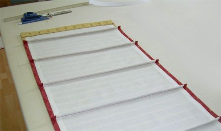 How To Make Roman Shades Step By Step Home Dzine How To Make A Roman Blind How To Make A Roman Blind Roman Blinds Diy Roman Blinds
