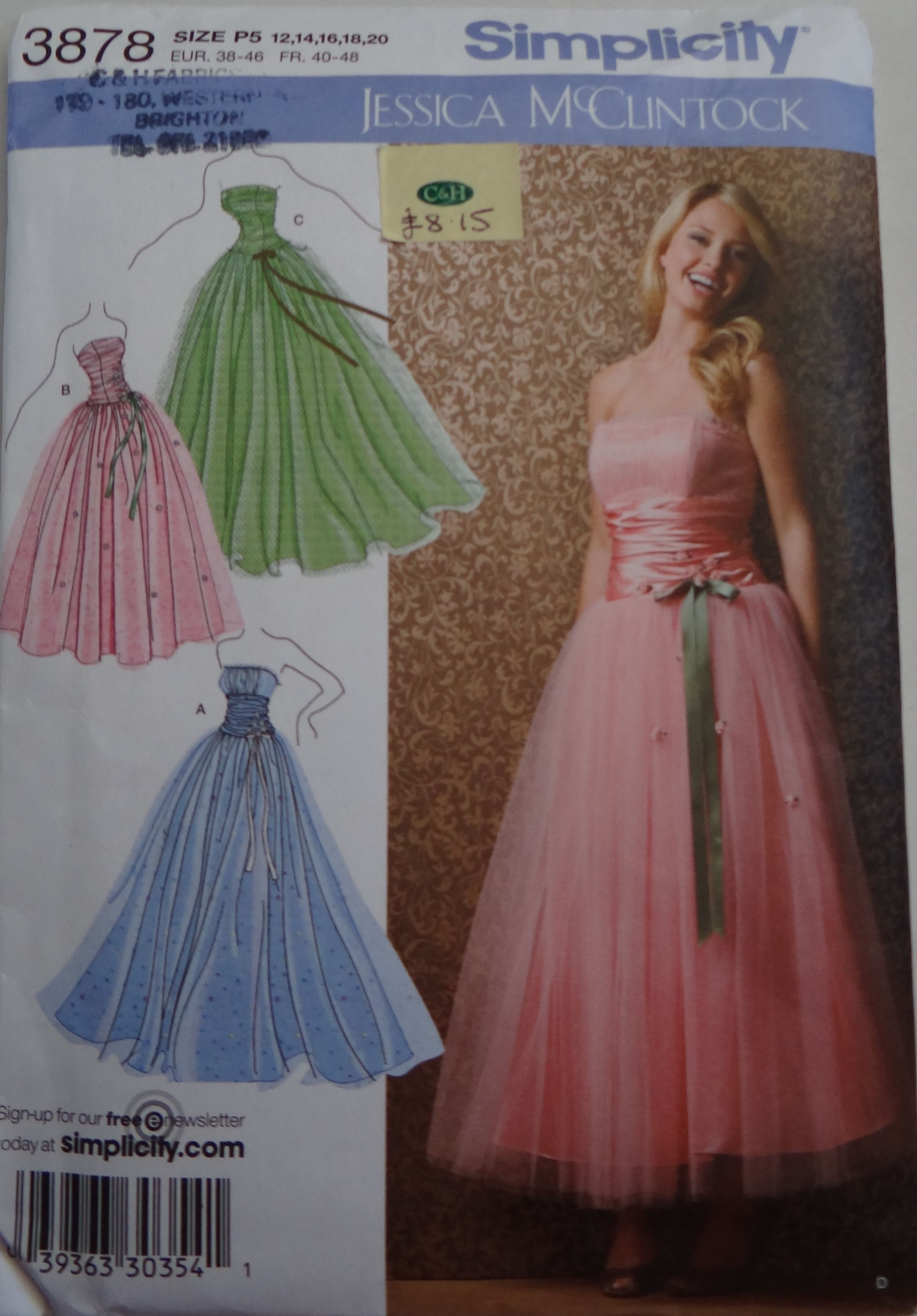 corset back prom dress patterns | How to Understand a Sewing ...
