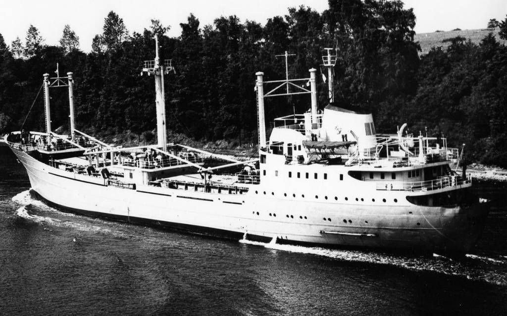 Baltic Jet - ship dad sailed on november 1964