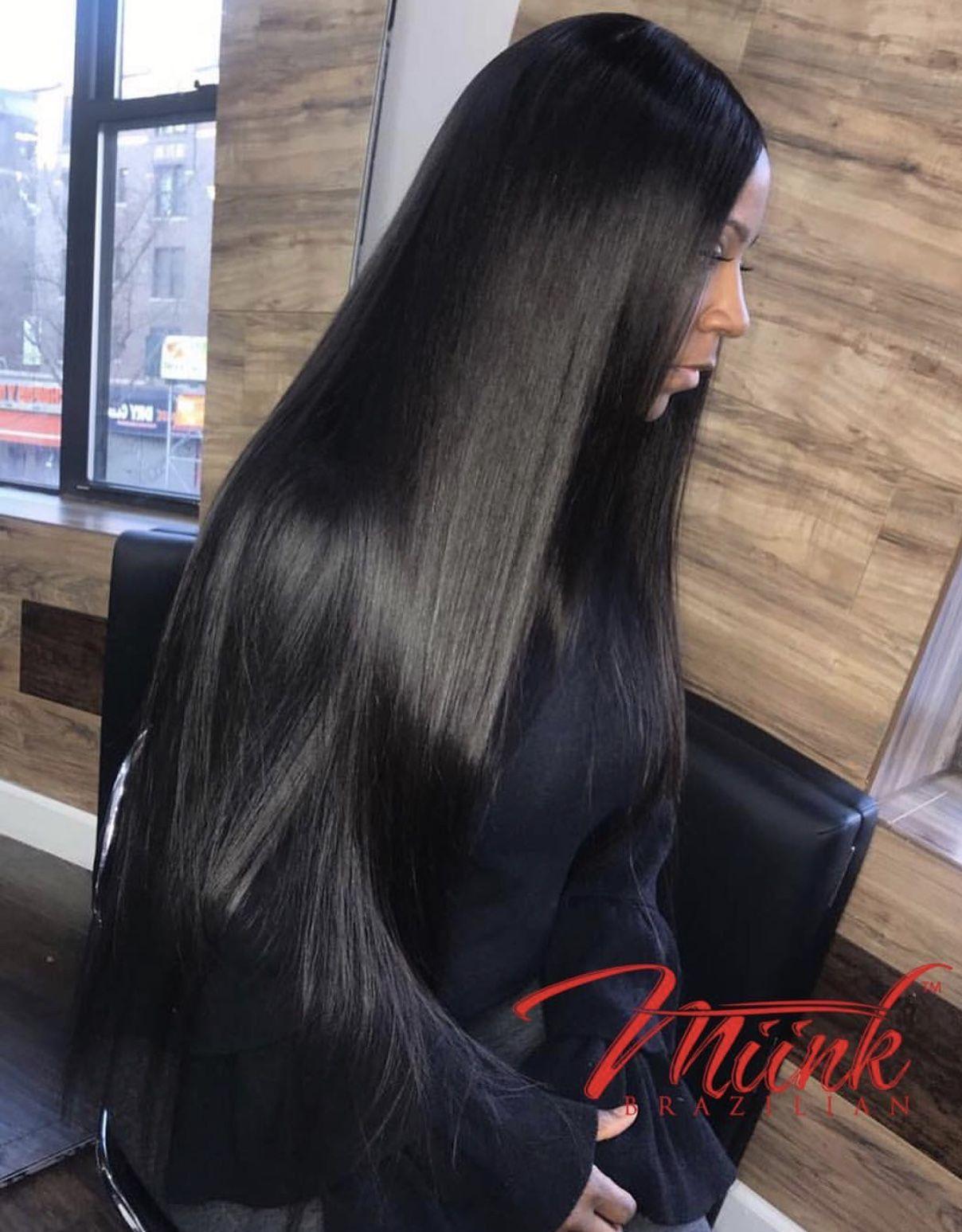Follow Tryyveaytyѕ For More Rorrin Pins Ebony Hair Shiny Black Hair Long Hair Styles
