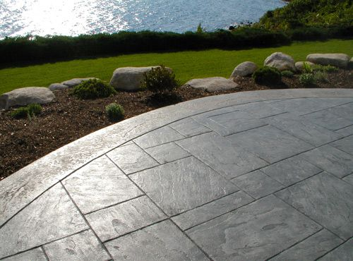 custom concrete design inc specializing in decorative stamped
