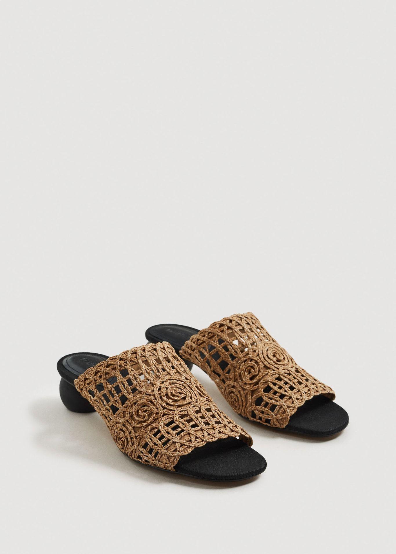 cbbf0cdbb76 Braided design mules - Women | ○ s h o e s ○ | Braid designs ...