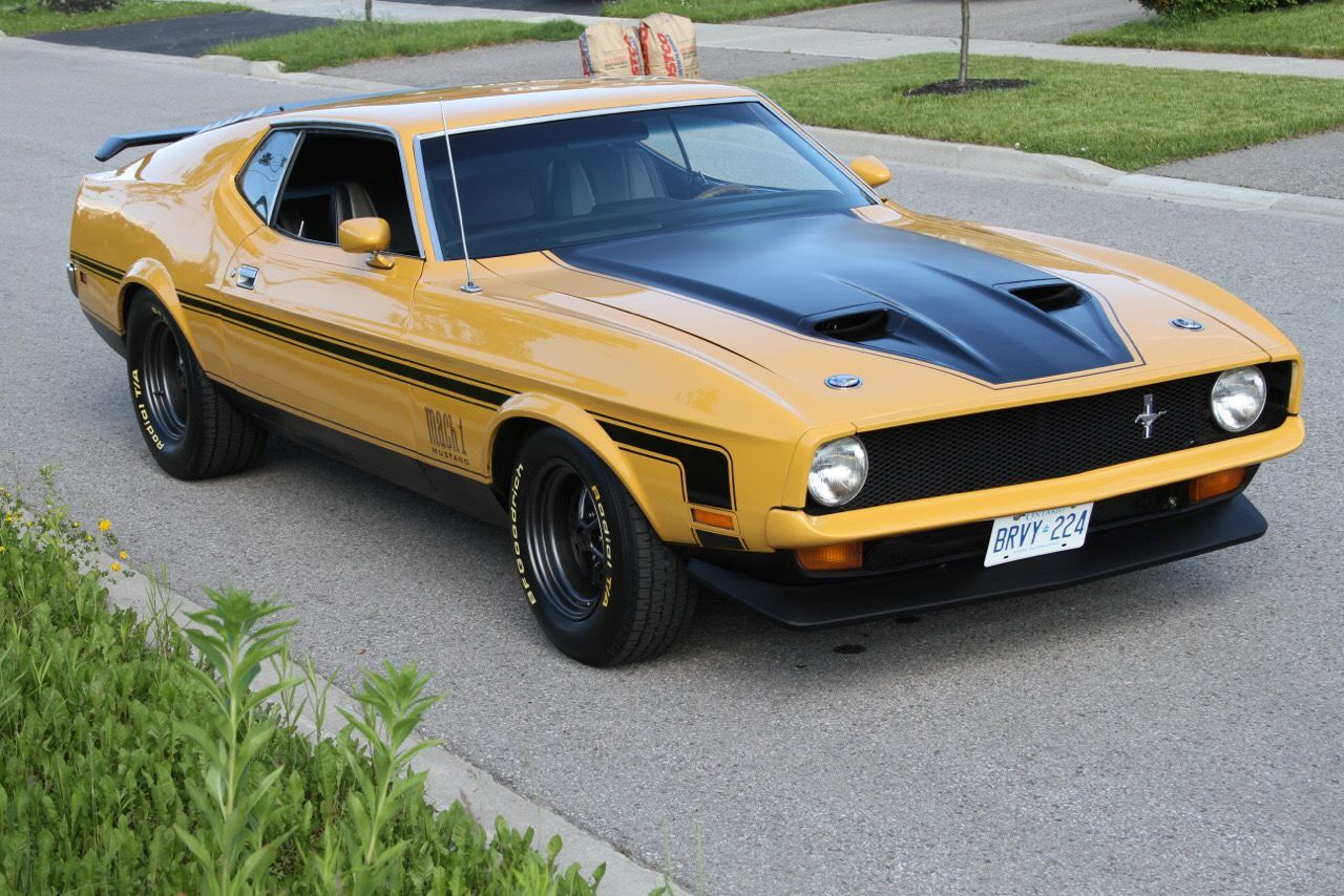 72 Mustang Mach 1 Sporting A Custom Grille Aero Kit And Wheels In Other Words What The Mach 1 Should Have Mustang Mach 1 Mustang Cars Ford Mustang Shelby