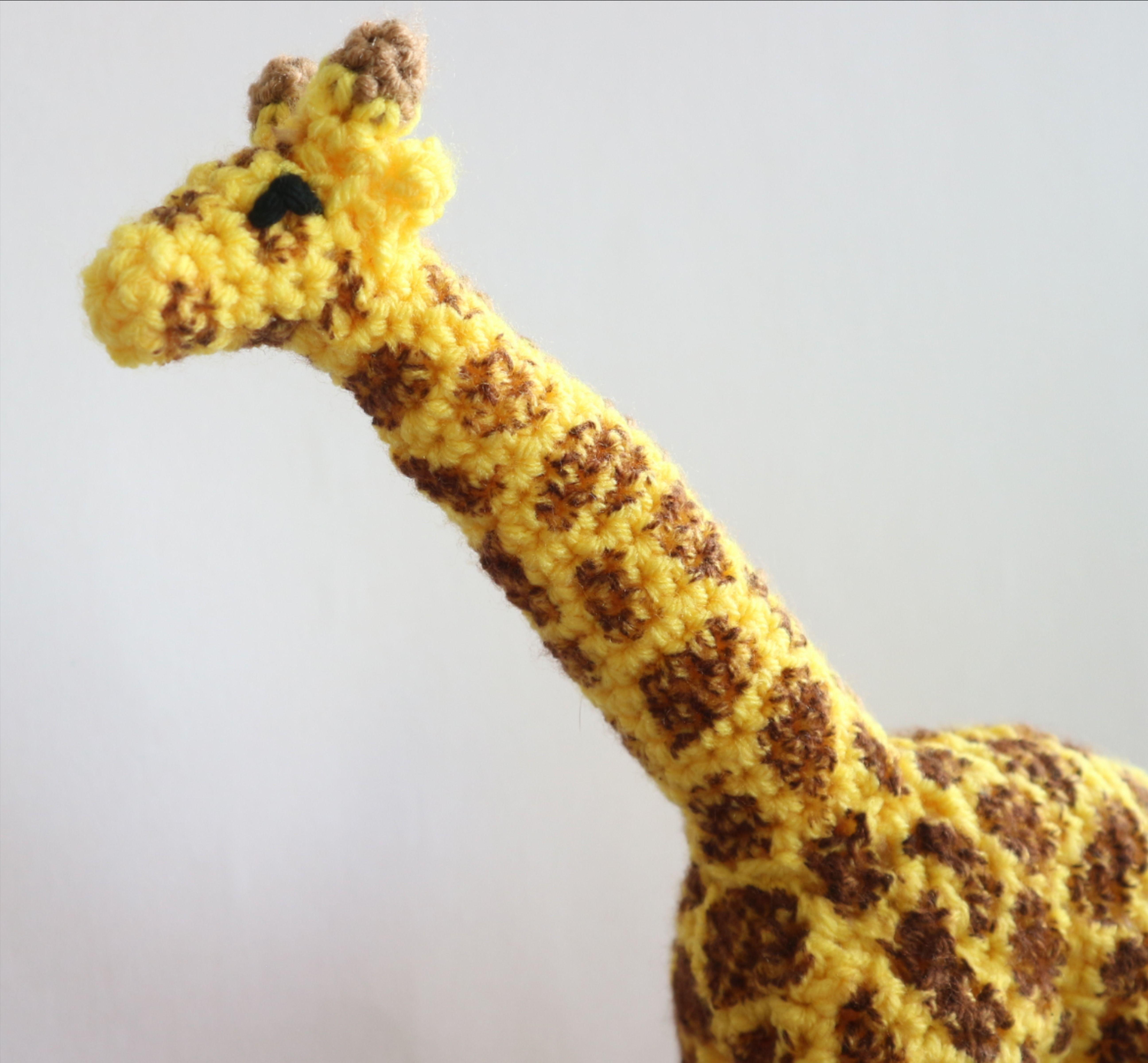 Realistic Crochet Giraffe Crochet Stuffed Animal Baby Bedroom Etsy Giraffe Crochet Giraffe Gifts For Kids