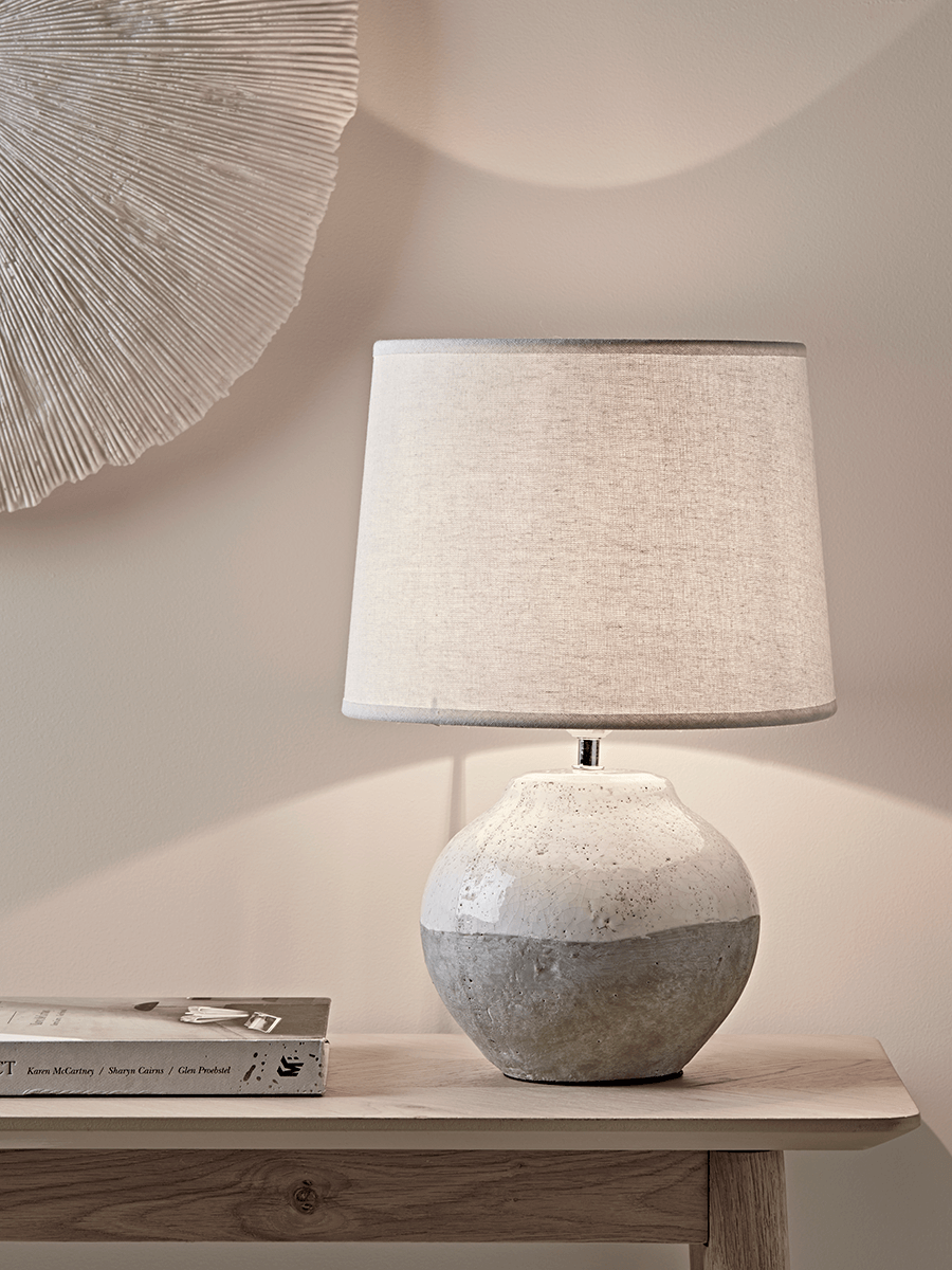 Dip Glaze Table Lamp Small In 2019 Table Lamps For