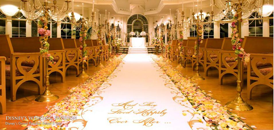 Disneyland Wedding <3 I think my wife would be very happy xP