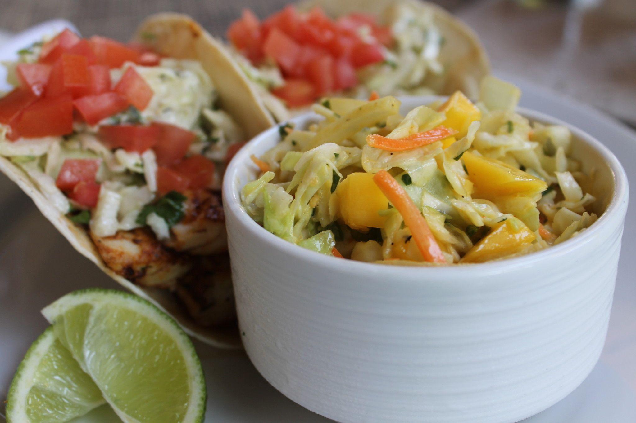 Mango Slaw Recipe from Latitudes at the Marriott Hollywood Beach Resort