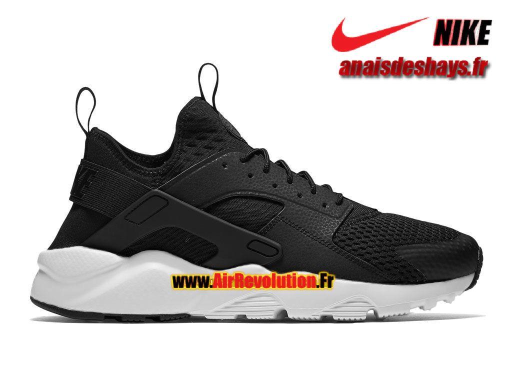 sale retailer 3c92a 801da Boutique Officiel Nike Air Huarache Ultra Breathe Homme Noir Blanc  833147-010iD
