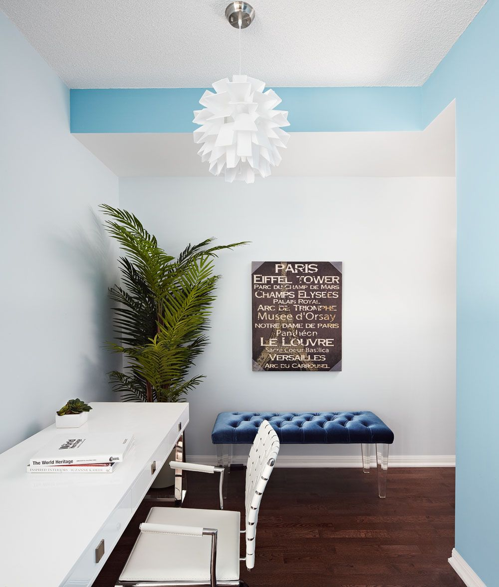 RoomReveal - Esams Condo- Den, Interior Design, Calgary by Lux ...