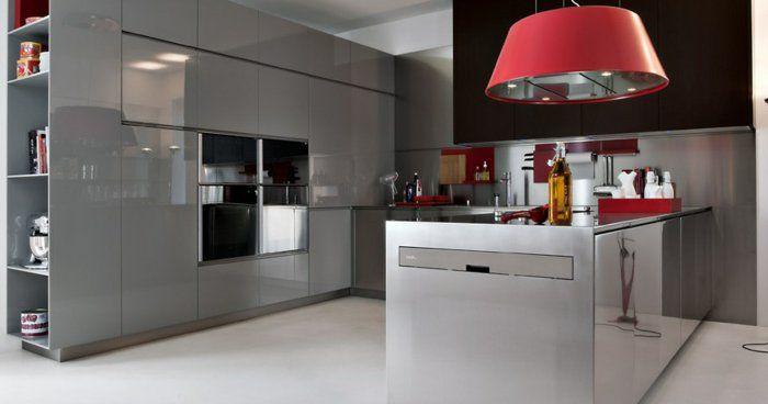 La cuisine grise, plutôt oui ou plutôt non? | Cuisines grises ...