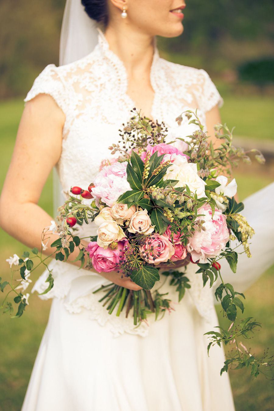 wedding flowers {Dave & Charlotte Lifestyle Photography} #bouquet