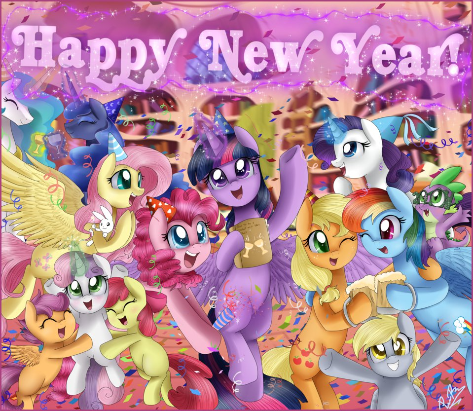 Image result for mlp new year