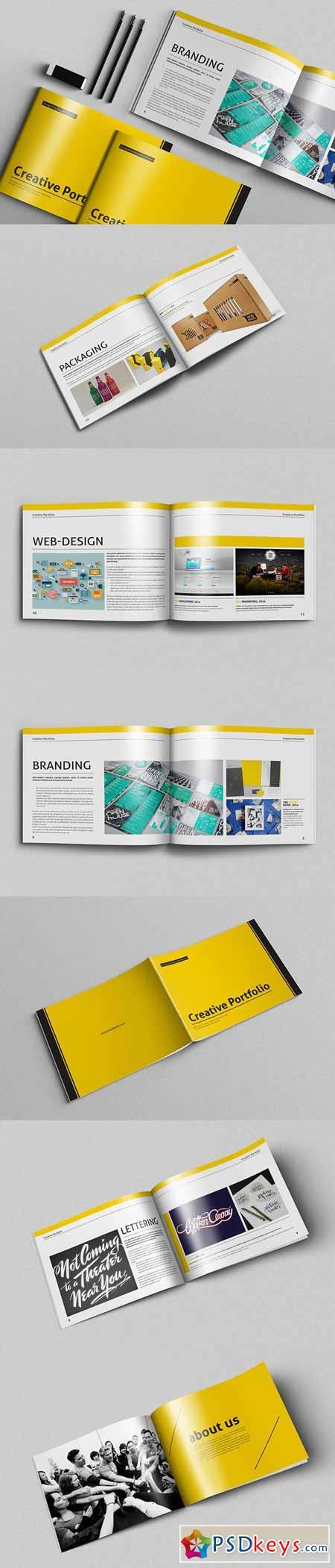 Portfolio Brochure Vol.5 478438 » Free Download Photoshop Vector ...